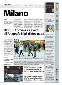 la Repubblica Milano - 13 Dicembre 2018