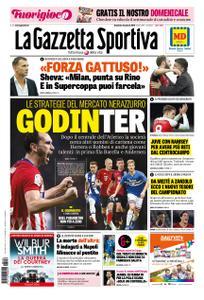 La Gazzetta dello Sport Roma – 06 gennaio 2019