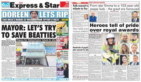 Express and Star City Edition – June 09, 2018