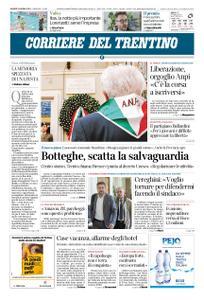 Corriere del Trentino – 25 aprile 2019