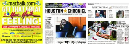 Houston Chronicle – August 24, 2019