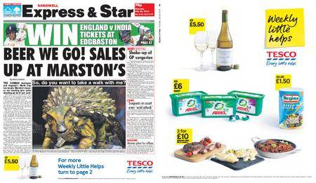 Express and Star Sandwell Edition – July 26, 2018