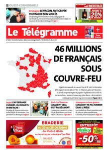 Le Télégramme Ouest Cornouaille – 23 octobre 2020