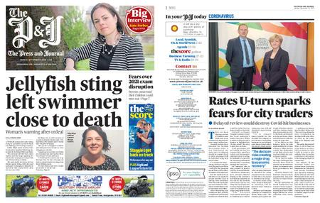 The Press and Journal Moray – September 21, 2020