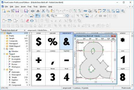 High-Logic FontCreator Professional Edition 11.5.0.2421 (x64) Portable