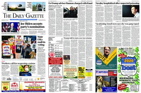 The Daily Gazette – August 21, 2020