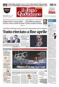 Il Fatto Quotidiano - 9 Aprile 2018