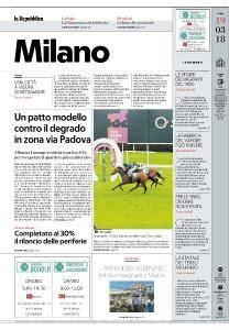 la Repubblica Milano - 19 Marzo 2018