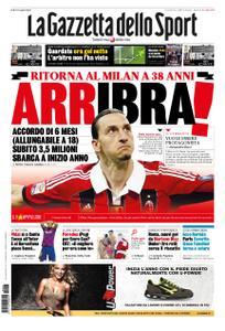 La Gazzetta dello Sport Roma – 27 dicembre 2019