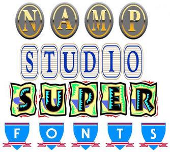 Super Vector Fonts
