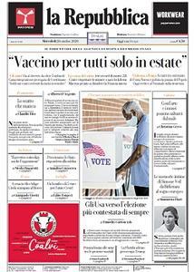 la Repubblica - 28 Ottobre 2020
