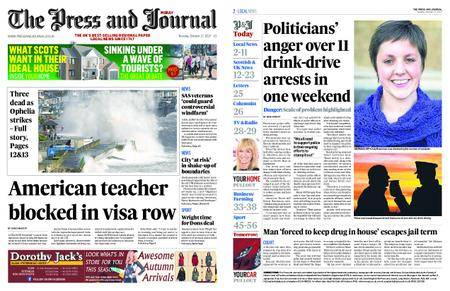 The Press and Journal Moray – October 17, 2017