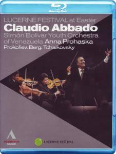 Claudio Abbado, Simon Bolivar Youth Orchestra of Venezuela, Anna Prohaska - Lucerne Festival at Easter (2010) [Blu-Ray]