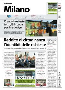 la Repubblica Milano - 9 Aprile 2019
