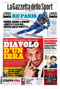 La Gazzetta dello Sport Roma – 28 dicembre 2019