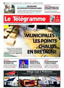 Le Télégramme Brest Abers Iroise – 26 juin 2020