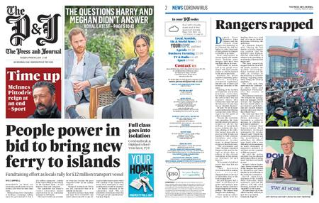 The Press and Journal Moray – March 09, 2021