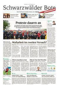 Schwarzwälder Bote Hechingen - 24. September 2018