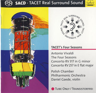 Antonio Vivaldi - Polish Chamber PO, Gaede - Four Seasons (2008) {Hybrid-SACD // EAC Rip} [RE-UP]