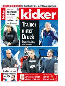 Kicker – 07. Januar 2021
