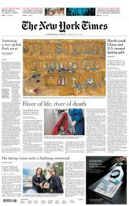 International New York Times - 27 July 2020
