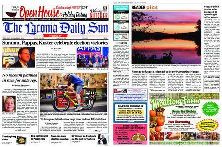The Laconia Daily Sun – November 08, 2018