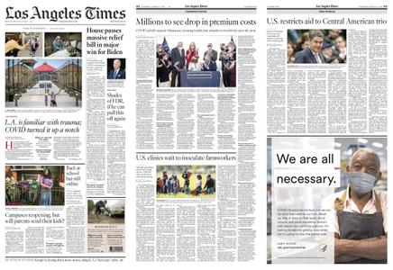 Los Angeles Times – March 11, 2021