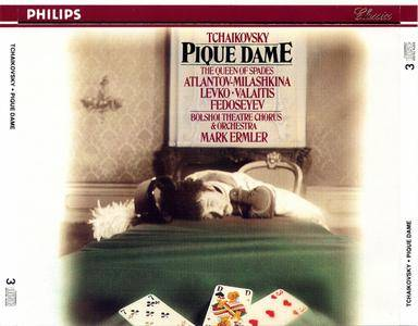 Bolshoi Theatre Chorus and Orchestra, Mark Ermler, Soloists - P.I. Tchaikovsky: Pique Dame (The Queen of Spades) (1974)