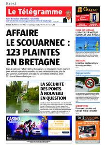 Le Télégramme Brest – 19 novembre 2019