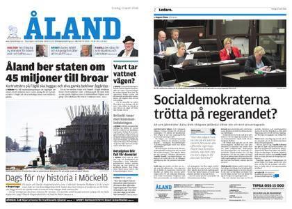 Ålandstidningen – 13 april 2018
