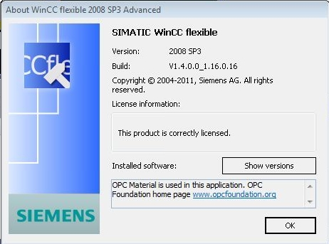 Siemens SIMATIC WinCC Flexible 2008 SP3 32bit & 64bit / AvaxHome