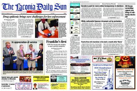 The Laconia Daily Sun – October 20, 2017