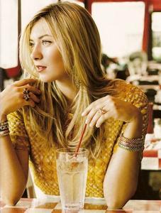Maria Sharapova - Vogue Photoshoot