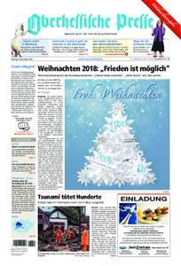 Oberhessische Presse Marburg/Ostkreis - 24. Dezember 2018
