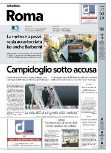 la Repubblica Roma - 22 Marzo 2019