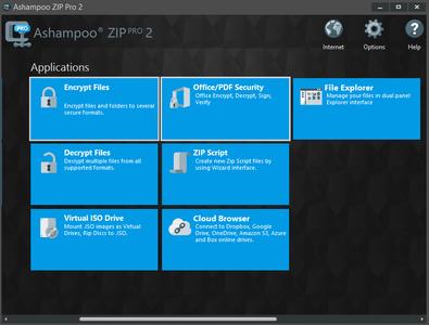 Ashampoo ZIP Pro 2.0.0.38 DC 20.01.2017 Multilingual Portable