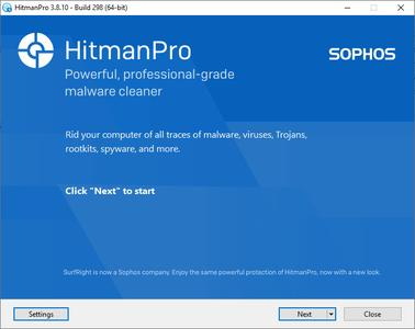 HitmanPro 3.8.16 Build 310