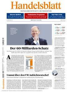 Handelsblatt - 07. Mai 2018