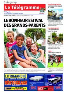 Le Télégramme Guingamp – 10 août 2019