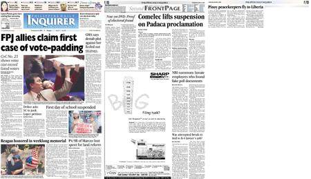 Philippine Daily Inquirer – June 08, 2004
