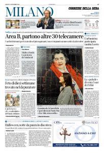 Corriere della Sera Milano – 02 novembre 2019