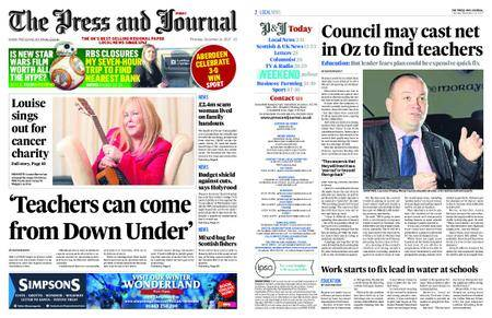 The Press and Journal Moray – December 14, 2017