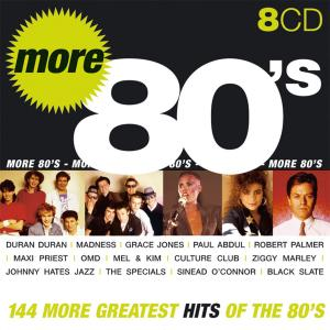V.A. - More 80's: 144 More Greatest Hits Of The 80's (8CD Box Set, 2005)