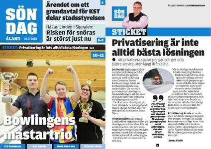 Ålandstidningen – 10 februari 2019