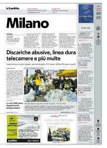 la Repubblica Milano - 22 Ottobre 2018
