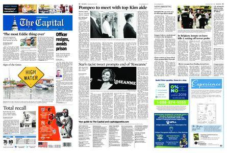 The Capital – May 30, 2018