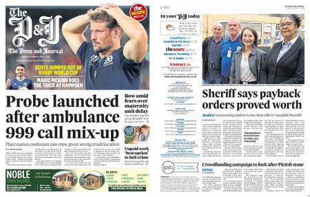 The Press and Journal Moray – October 14, 2019