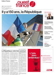 Ouest-France Édition France – 04 septembre 2020