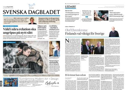 Svenska Dagbladet – 16 april 2019