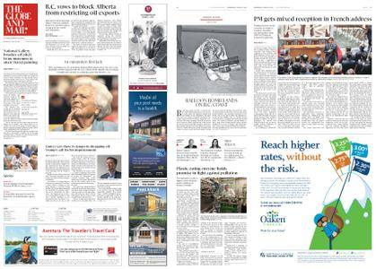 The Globe and Mail – April 18, 2018